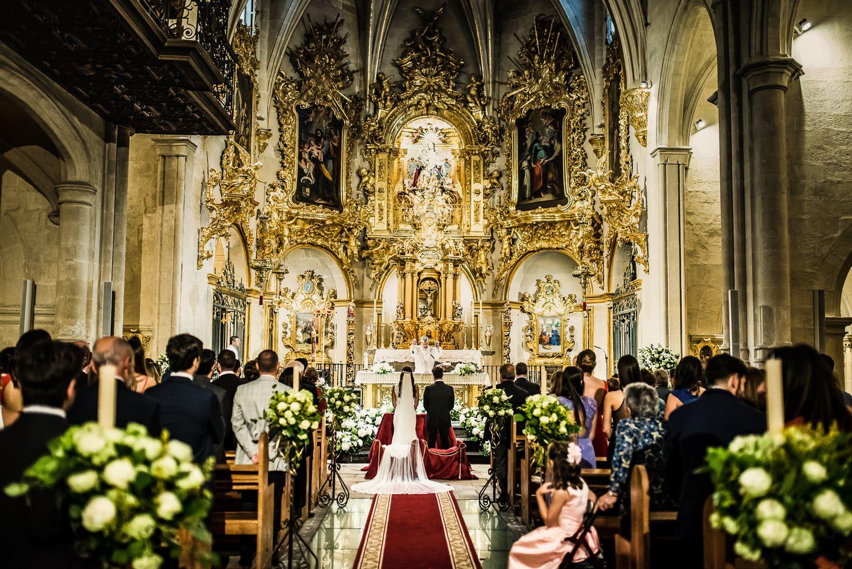 Boda en la Basílica de Santa María