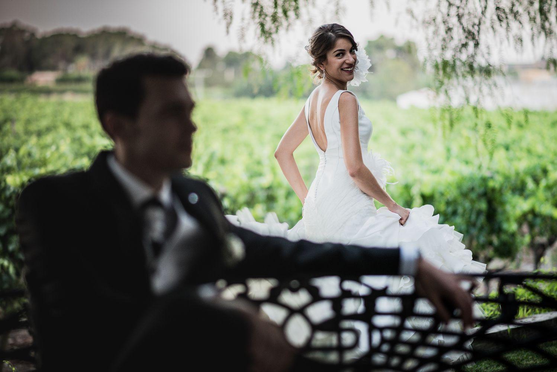 Foto de boda en Casa Sicilia en Elda